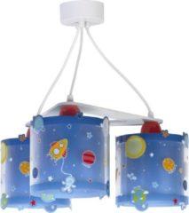 Dalber hanglampen ruimte 3 stuks 20 cm blauw