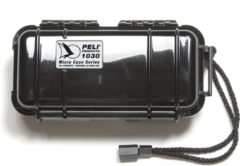 Witte Peli Case 1030 Micro Zwart/Zwart