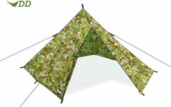 DD Hammocks Pyramid Tent - Multicolourcam/ Legerprint - 1 Persoons