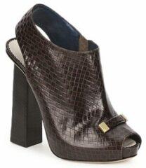 Bruine Low Boots Pollini PA1617