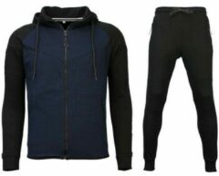 Trainingsbroek Style Italy Trainingspakken Windrunner Basic - Zwart / Blauw