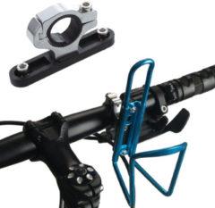 BIKIGHT Aluminum Alloy Bike Bicycle Water Bottle Holder Case Adapter Clamp Cycling Bottle Cage Base