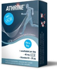 Athrine Smelttablet UC-11 + vitamine D3 30 Tabletten