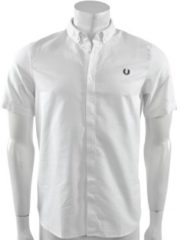 Witte Fred Perry - Classic Oxford Shirt - Heren - maat S