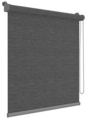 Grijze Decosol Rolgordijn mini Deluxe 42x190 cm antraciet