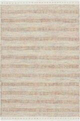 Decor24 Schitterend handgeweven vloerkleed van 100% wol - Jaipur - beige - 160x230 cm