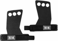 Reeva carbon grips - crossfit grips - crossfit handschoenen -zwart - medium