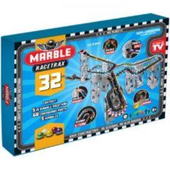 Grijze Marble Racetrax Knikkerbaan Marble Racetrax: circuit set - 32 sheets 5 meter