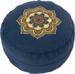 Lotus Meditatiekussen - Mandala - Blauw