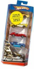 Hot Wheels cadeauset Hot Trucks 7,5 cm 5 delig