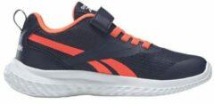 Reebok Training Rush Runner 3.0 sportschoenen donkerblauw/oranje/wit kids