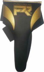 Punch Round™ Kruisbeschermer Dames Meisjes Zwart Goud maat XL