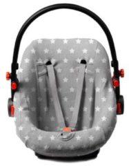 Briljant Baby Autostoelhoes badstof dessin Thijs - maat 0+ grijs