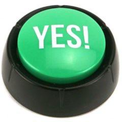 Groene Zoomer Knop Yes!