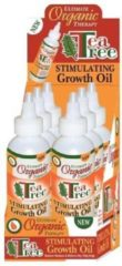 Africas Best Ultimate Organics Tea Tree Oil Stimulating Growth Oil 118 ml