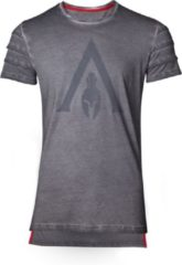Difuzed Assassin's Creed: Odyssey - Logo Oil Dye Pintuck T-Shirt - Maat XL