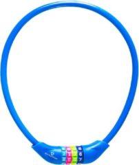 #DoYourFitness #DoYourOutdoor - Fietsslot - »Protector« - Kettingslot - L 70 cm, Ø 25 cm, dikte ca. 3/4 mm - marineblauw