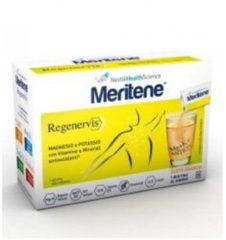 Nestle'italiana MERITENE REGENERVIS ARANCIA 20 BUSTINE Integratore MAGNESIO e POTASSIO con Vitamine e Minerali antiossidanti NESTLEITALIANA