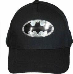 DC Comics Batman Baseball Cap Pet Volwassenen Zwart / Zilver