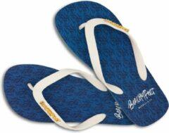 Blauwe BeachyFeet slippers - Banus (maat 43/44)
