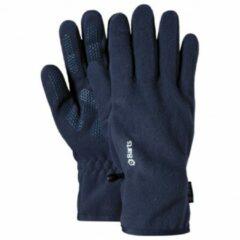 Marineblauwe Barts Fleece Gloves Unisex Handschoenen - Navy - Maat XS