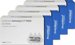 PrintAbout - Alternatief voor de Samsung CLT-P404C / 4 Kleuren