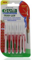 Gum Trav-ler Ragers - Interdentale Borstels 0.8mm Rood