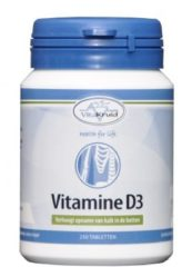 Vitakruid Vitamine D3 Voedingssupplement - 250 tabletten