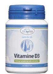 Vitakruid Vitamine D3 5 Mcg Trio (3x 250tb)