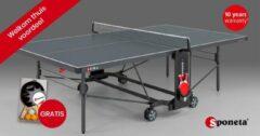 Sponeta tafeltennistafel outdoor S4-70 e grijs 274 x 152,5 x 76 cm