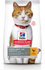 Hill's Feline Young Adult Gesteriliseerd Kip 3 kg