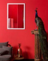 Verno.com KunstSpiegel New York - Spiegel - Hout - 97x67 cm - Wit
