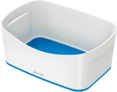 Opbergtray Leitz mybox blauw/wit - actie!