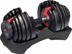 Zwarte Bowflex SelectTech 552i - 23.8 kg - Verstelbare dumbbell - per stuk - Kunststof