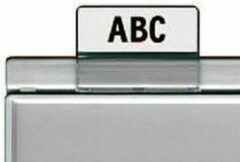 Transparante Ruiters Han tbv tussenschotten - inclusief beschrijfbare strook