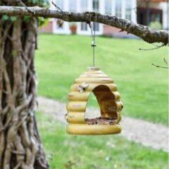 Chapelwood Vogelvoederhuis bijenkorf - set van 2 stuks