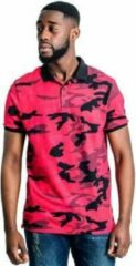 Rode Airforce - Polo Camo - Heren - maat L