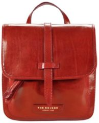 Plume Luxe Donna Rucksack Leder 27 cm The Bridge rosso ribes