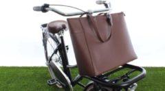 Bruine Cortina Milan Handbag PU-leather Brown
