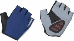 Marineblauwe GripGrab Easyrider fietshandschoenen (korte vingers) - Handschoenen