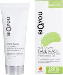 Bio2You Nederland Vochtherstellend gezichtsmasker met alfa-hydroxyzuren en hyaluronzuur
