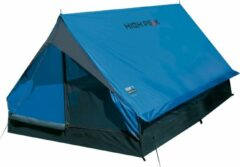 High Peak Minipack Tunneltent - Blauw - 2 Persoons