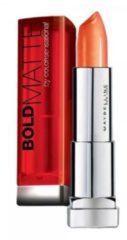 Rode Maybelline Color Sensational Bold Matte Lippenstift - Mat 3