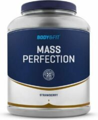 Body & Fit Mass Perfection - Weight gainer - 2200 gram - Aardbei milkshake