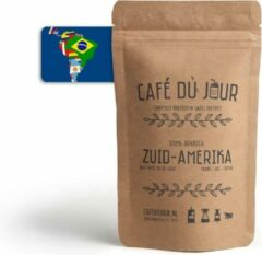 Café du Jour 100% arabica Zuid-Amerika 250 gram vers gebrande koffiebonen