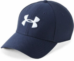 Marineblauwe Under Armour Blitzing 3.0 pet - Petten
