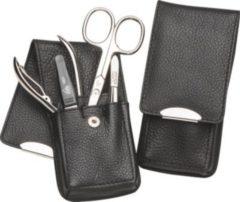 Erbe Manicure Taschenetui schwarz 4-teilig