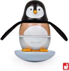 Zwarte Mertex Trading Janod Stapeltuimelaar Pinguin Zigolos