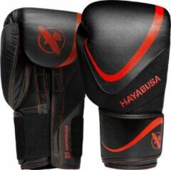 Hayabusa H5 Bokshandschoenen - Zwart / Rood - 12 oz