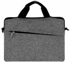 Antraciet-grijze Merkloos / Sans marque Universele Laptop Tas Business Computer Case voor 13 Laptops en MacBooks